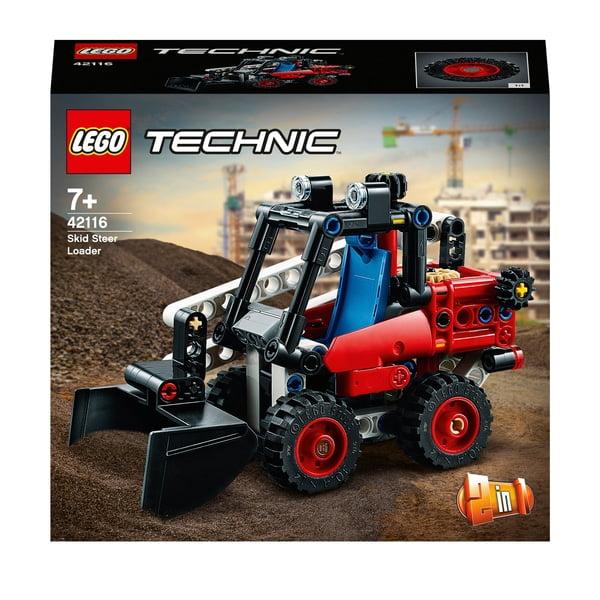 LEGO 42116 Technic Skid Steer Loader to Hot Rod 2 in 1 Set