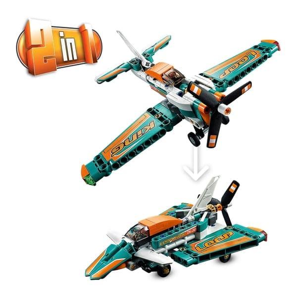 LEGO 42117 Technic Racing Plane Jet Aeroplane 2 in 1 Toy
