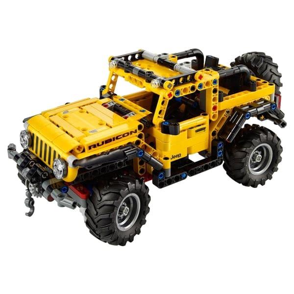LEGO 42122 Technic Jeep Wrangler Toy Car