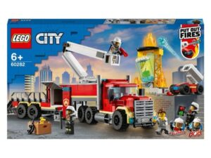LEGO 60282 City Fire Command Unit with Toy Fire Engine