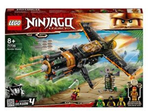 LEGO 71736 NINJAGO Legacy Boulder Blaster Aeroplane Toy