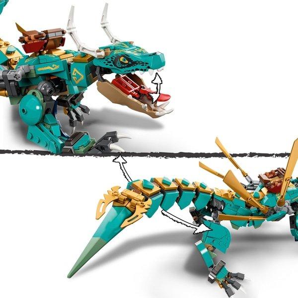 LEGO 71746 NINJAGO Jungle Dragon Toy Building Set