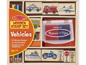 Melissa & Doug Vehicle Stamp Set 12409