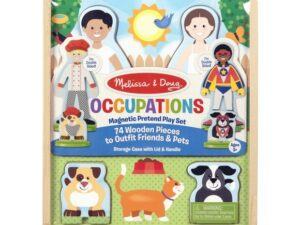 Melissa & Doug Occupations Magnetic Dress Play Set 19309