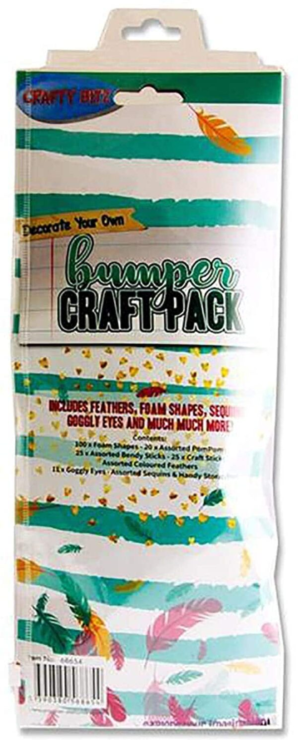 Premier Stationery 68654 Crafty Bitz Bumper Craft Pack