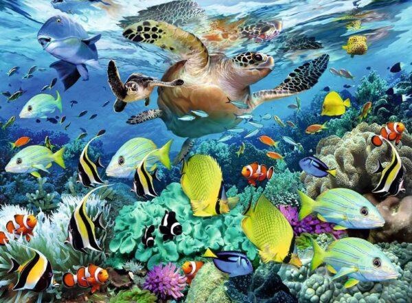 Ravensburger 10009 Underwater Paradise 150 Jigsaw Puzzle