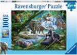 Ravensburger 12970 Jungle Families 100 Piece Jigsaw Puzzle