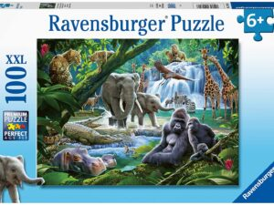 Ravensburger 12970 Jungle Families 100 Piece Jigsaw Puzzle