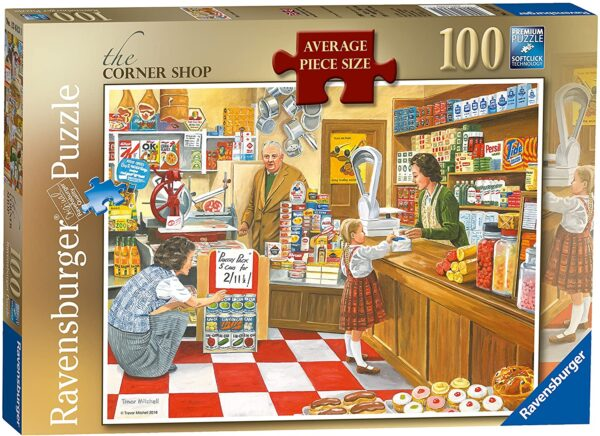 Ravensburger The Corner Shop 100 Piece Jigsaw Puzzle with Extra Large Pieces