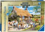 Ravensburger The Country Cottage 100 Piece Jigsaw Puzzle