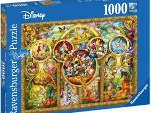 Ravensburger Disney Best Themes 1000 Piece Jigsaw Puzzle for Adults & for Kids