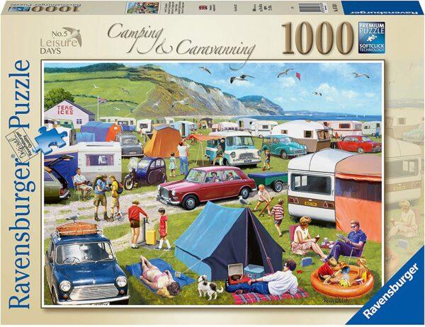 Ravensburger 16763 Leisure Days Camping & Caravanning 1000 Piece Jigsaw