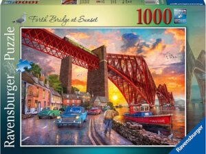 Ravensburger 16766 Forth Bridge at Sunset 1000 Piece Jigsaw Puzzle
