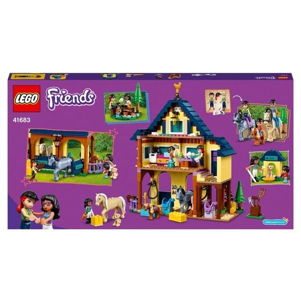 LEGO 41683 Friends Forest Horseback Riding Centre Set