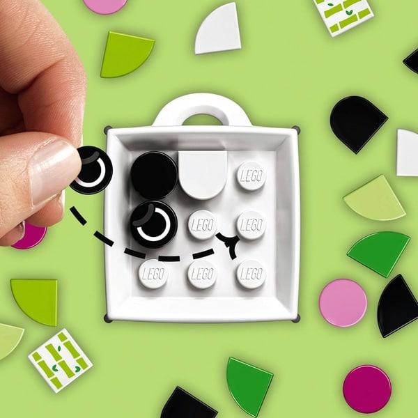 LEGO 41930 DOTS Bag Tag Panda Accessories Craft Set for Kids