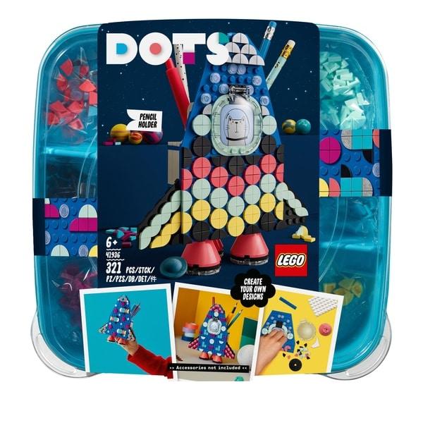 LEGO 41936 DOTS Pencil Holder Room Décor Kids Craft Set