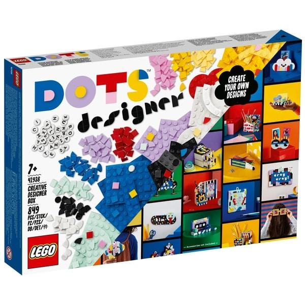 LEGO 41938 DOTS Creative Designer Box Lots of Extra DOTS Set