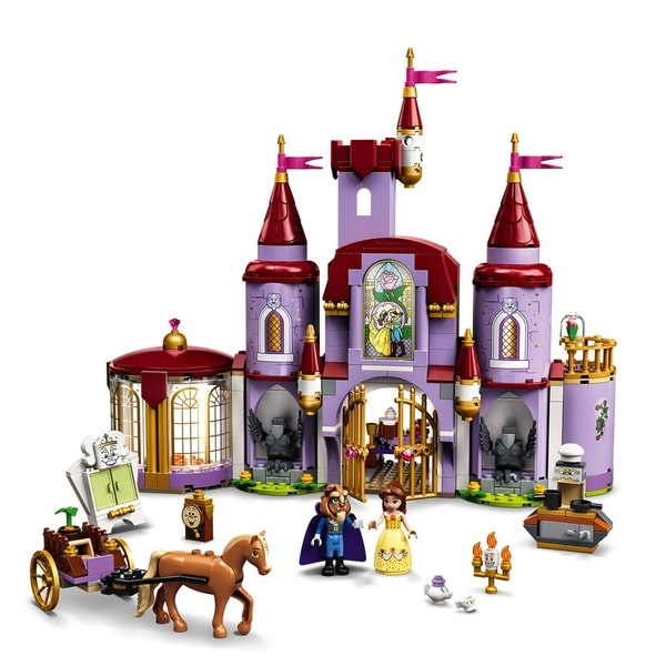 LEGO 43196 Disney Belle and the Beast's Castle Building Toy