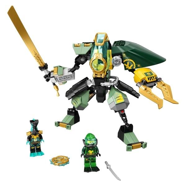 LEGO 71750 NINJAGO Lloyd's Hydro Mech Action Figure Set