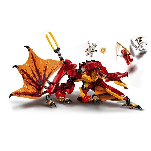 LEGO 71753 NINJAGO Legacy Fire Dragon Attack Ninja Toy Set