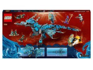 LEGO 71754 NINJAGO Water Dragon Toy Ninja Building Set