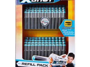Zuru X-Shot Excel Universally Compatible Foam Darts 100 Refill Pack