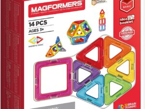 Magformers 701003 Basic 14-piece Magnetic Construction Toy
