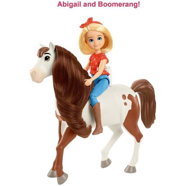 Spirit Untamed Abigail and Boomerang