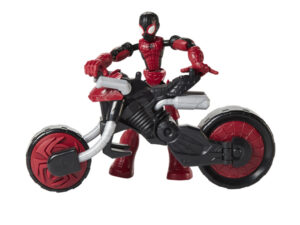 Marvel Bend and Flex Spider-Man and Motorcycle