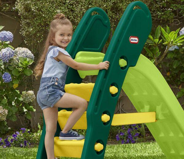Little Tikes Easy Store Giant Slide Evergreen