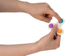 Push Popper Fidget Spinner