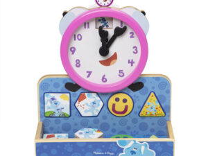 Melissa and Doug Blues Clues & You! Wooden Tickety Tock Magnetic Clock