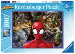 Ravensburger Marvel Spiderman – 100 piece Jigsaw Puzzle with Extra Large Pieces for Kids – 10728