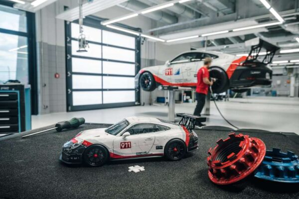 Ravensburger Porsche GT3 Cup 108 piece 3D Jigsaw Puzzle for Kids – 11147