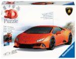 Ravensburger Lamborghini Huracan 108 piece 3D Jigsaw Puzzle for Kids – 11238