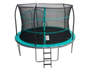 12FT TRAMPOLINE WITH ENCLOSURE, LADDER AND ANCHOR KIT – JP01-102-144