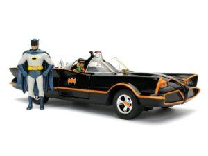 1966 Batmobile with Diecast Batman and Robin 1:24