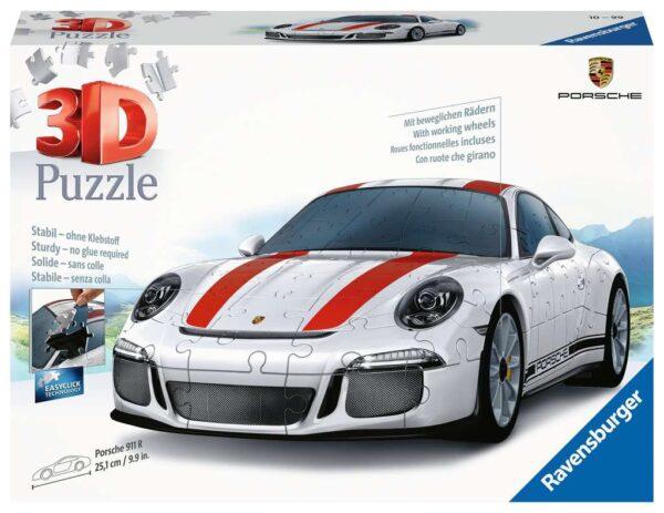Ravensburger Porsche 911 108 piece 3D Jigsaw Puzzle for Kids – 12528