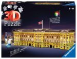 Ravensburger Buckingham Palace Night Edition 216 piece 3D Jigsaw Puzzle with LED lighting for Kids – 12529