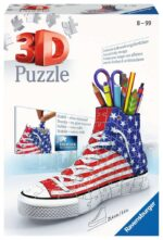 Ravensburger American Flag Trainer 108 piece 3D Jigsaw Puzzle for Kids – 12549