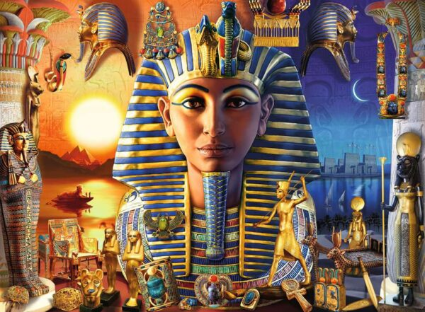 Ravensburger Pharoah's Legacy 300 piece Jigsaw Puzzle with Extra Large Pieces for Kids – 12953