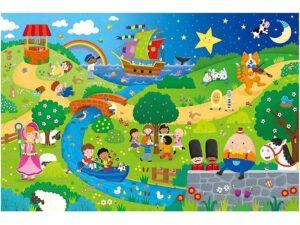Giant Floor Puzzle – Nursery Rhymes