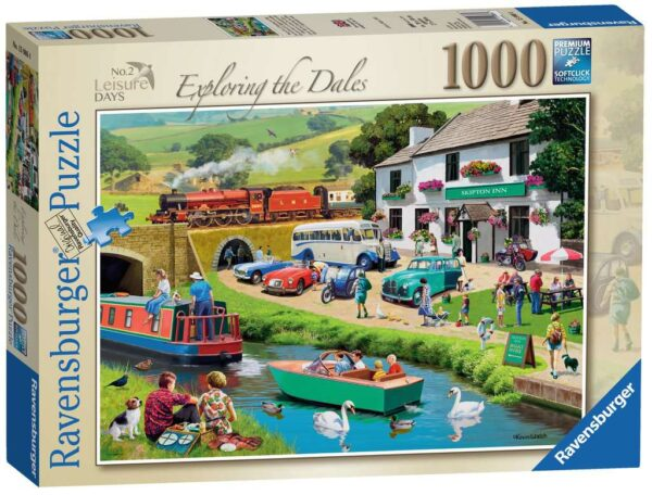 Ravensburger Leisure Days No.2 – Exploring the Dales 1000 piece Jigsaw Puzzle for Adults & for Kids – 15986