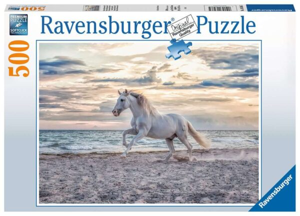 Ravensburger Evening Gallop 500 piece Jigsaw Puzzle for Adults & for Kids – 16586