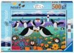 Ravensburger Puffinry 500 piece Jigsaw Puzzle for Adults & for Kids – 16759