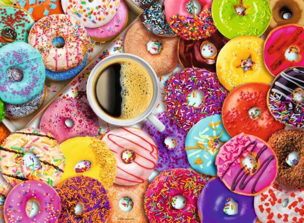 Ravensburger Doughnut Disturb! 500 piece Jigsaw Puzzle for Adults & for Kids – 16774