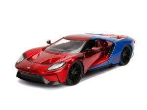 Marvel Spiderman 2017 Ford GT 1:24