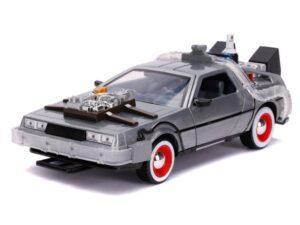 1:24 Back To The Future 3 DeLorean Time Machine
