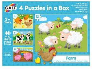 4 Puzzles in a Box – Farm