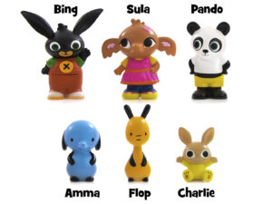 Golden Bear Bing & Friends 6 Figure Set – 3519